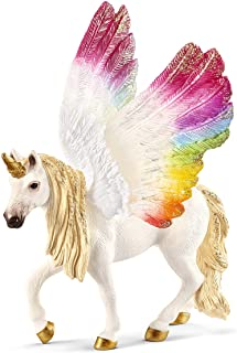 SCHLEICH bayala Winged Rainbow Unicorn Imaginative Figurine for Kids Ages 5-12
