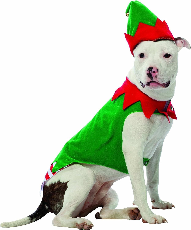 Rasta Imposta Elf Dog Costume, XXXLarge