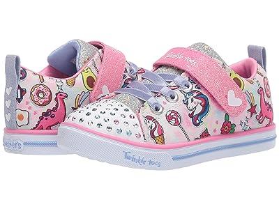 SKECHERS KIDS Twinkle Toes Sparkle Lite Dreamyland 314053N (Toddler) (Light Pink/Multi) Girl