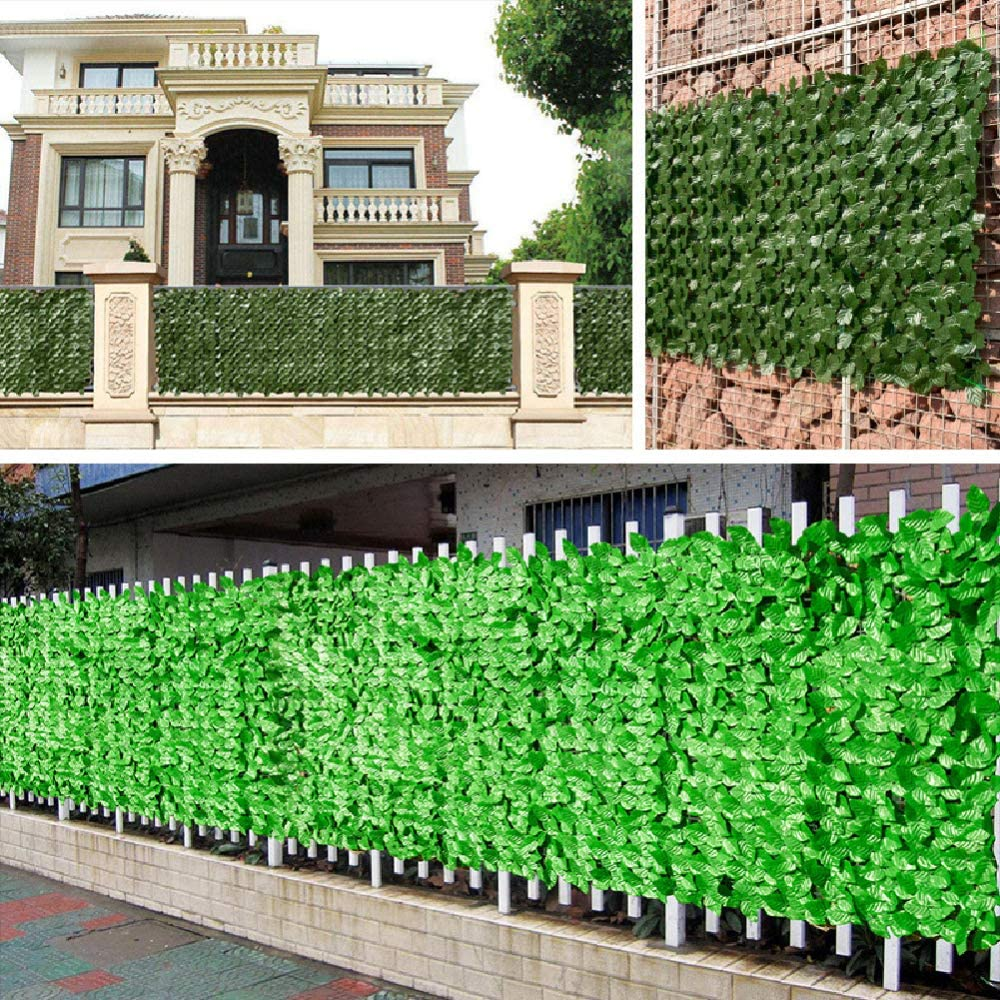 Baoer Fence Complete Free Shipping Privacy Screen Artificial Hedges Free shipping on posting reviews Fres UV Protection