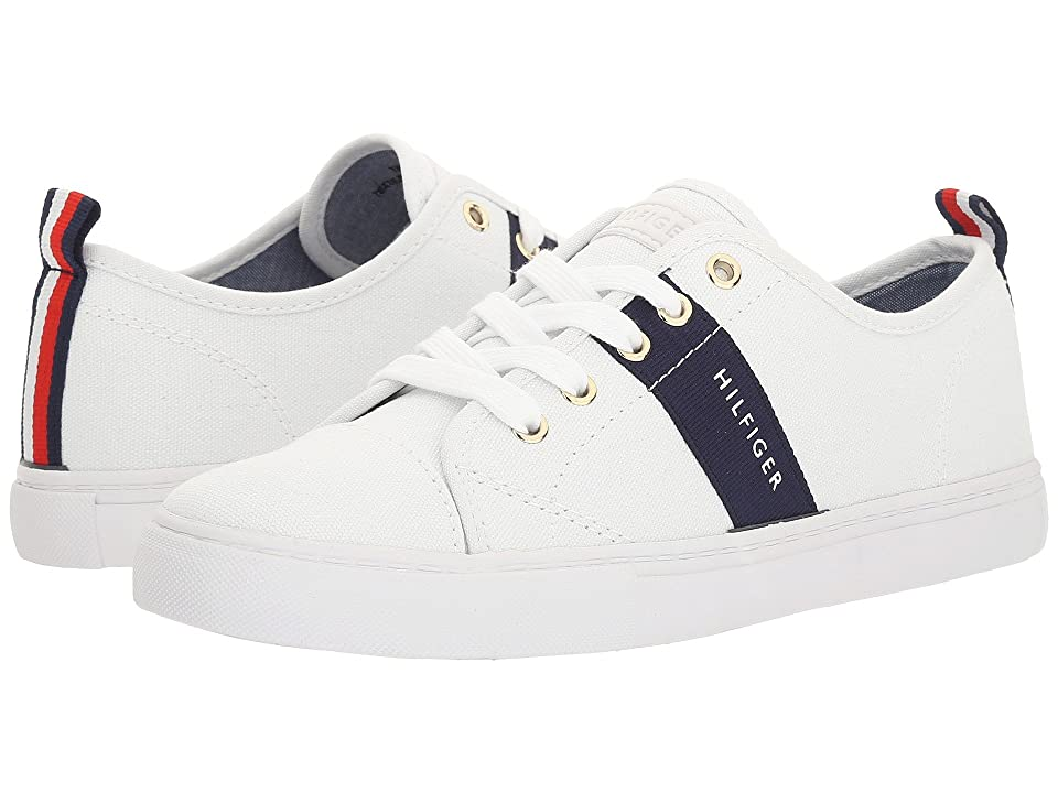 Tommy Hilfiger Lancer 2 (White/Marine) Women