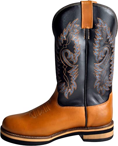 HKM Texas Western Western Bottes Softy Cow de