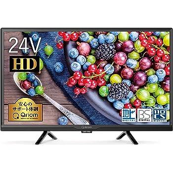山善 24V型 ハイビジョン 液晶テレビ (Fire TV シリーズ操作 外付けHDD録画 対応) QRC-24S2K