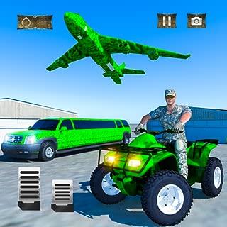 US Army ATV Quad Bike & Limo Car Plane Transporter
