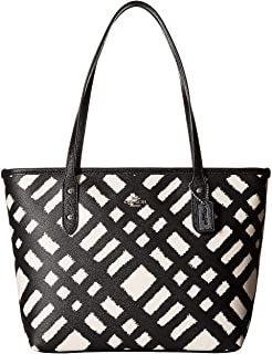 Women's BF Wild Plaid Mini City Zip Tote