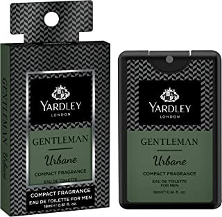 Yardley London Gentleman Urbane Compact Perfume, 18ml