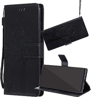 جراب واقي من Yiizy لهاتف Oppo Reno Z Case Premium Leather Flip Wallet Cover Bumper Slim Fit Lightweight Shell Pouch مع مسن...