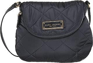 Mini Natasha Quilted Nylon Crossbody Handbag