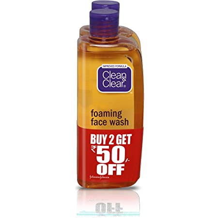 Clean & Clear Foaming Facewash, 150ml (Pack Of 2)