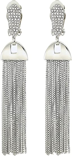 Vince Camuto Pave Tassel Earrings