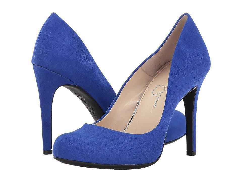 Jessica Simpson Calie (Blue Violet Microsuede) High Heels