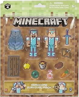 Minecraft Steve & Alex Hardcore Survival Pack