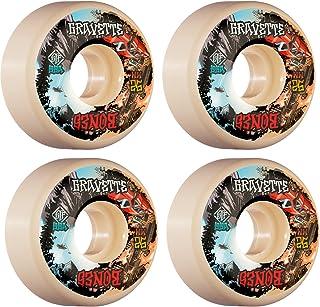 Bones Skateboard Wheels 52mm Gravette Heaven & Hell V2 Locks STF 99A
