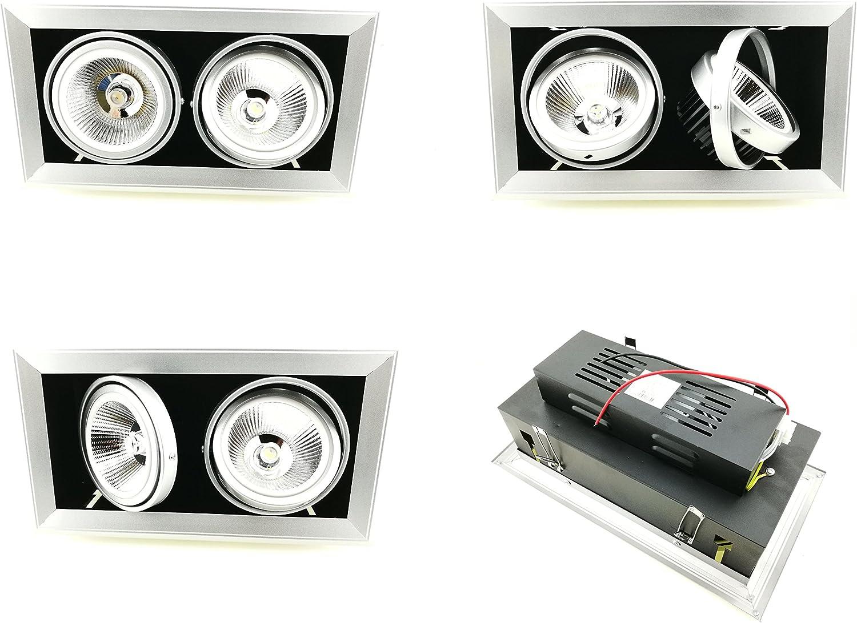 ofrecemos varias marcas famosas FOCO DE TECHO LED DOBLE CABEZA 40W 4000K 4000K 4000K NEUTRA  tienda en linea