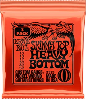 ernie ball 10 52 heavy bottom strings
