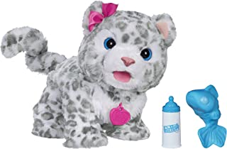 FurReal Flurry, My Baby Snow Leopard Interactive Plush Toy, Ages 4 & Up