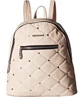 Rampage - Quilted Stud Midi Backpack