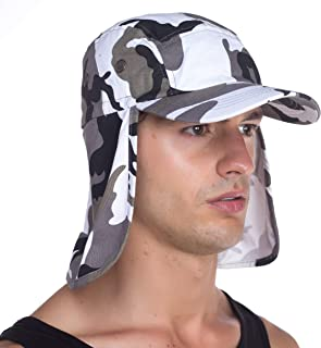 Top Level Fishing Sun Cap UV Protection - Ear and Neck Flap Hat 987e8fa363d0