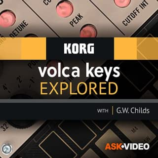 volca keys Course for Korg by Ask.Video
