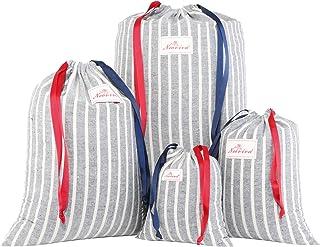Neoviva Lot de 4 sacs de rangement disponibles en plusieurs tailles