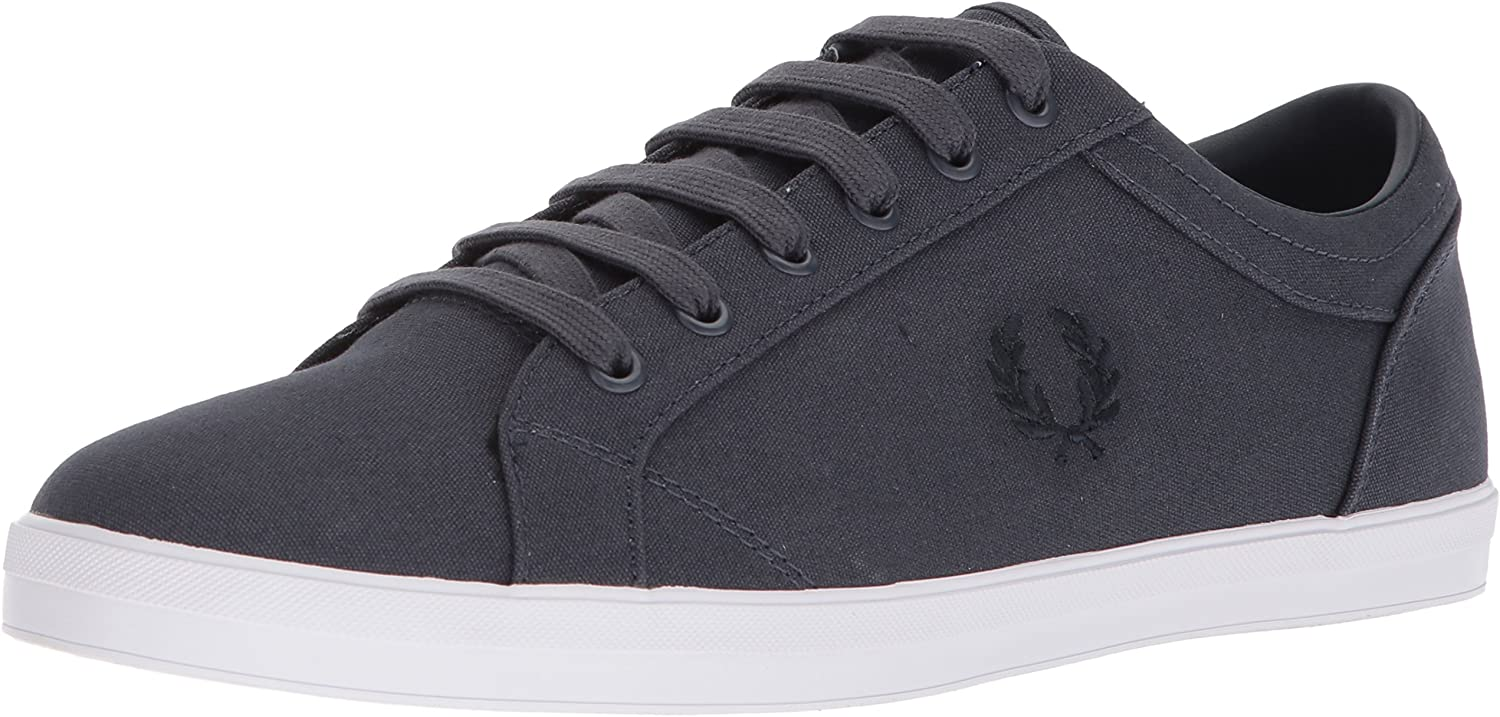 Fred Perry Men's Baseline Canvas Sneaker