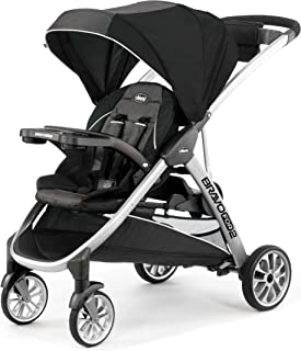 Chicco Bravo For2 Standing/Sitting Double Stroller, Iron