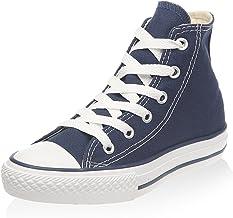 navy blue converse high tops mens