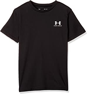 Under Armour Boy's Sportstyle Left Chest Short Sleeve Top