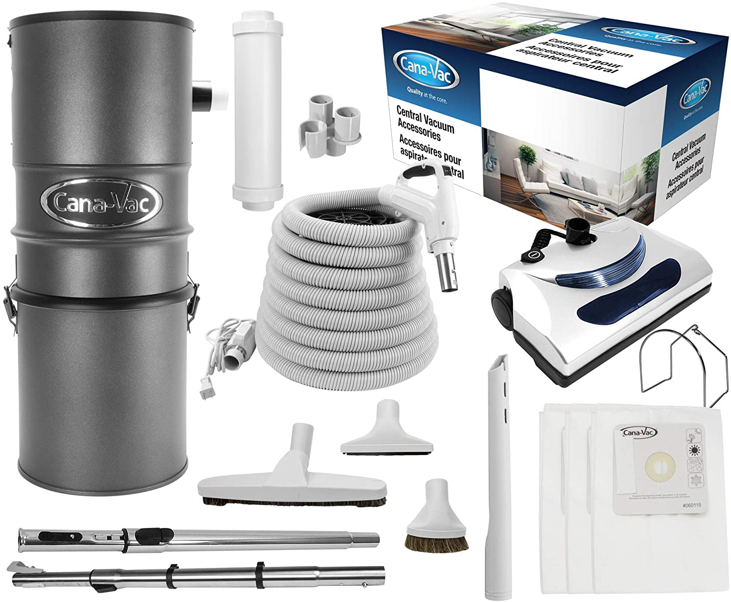 CanaVac Max 59% OFF CV700SP Ethos Series Central Cleaner Vacuum Special Campaign F Reliable -