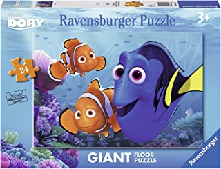 Ravensburger Finding Dory Floor Puzzle 24 Piece Jigsaw Puzzle for Kids – Every Piece is Unique, Pieces Fit Together Perfectly
