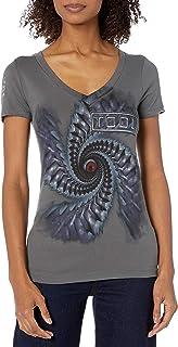FEA Women's Tool Spiral Graphic Soft Juniors T-Shirt