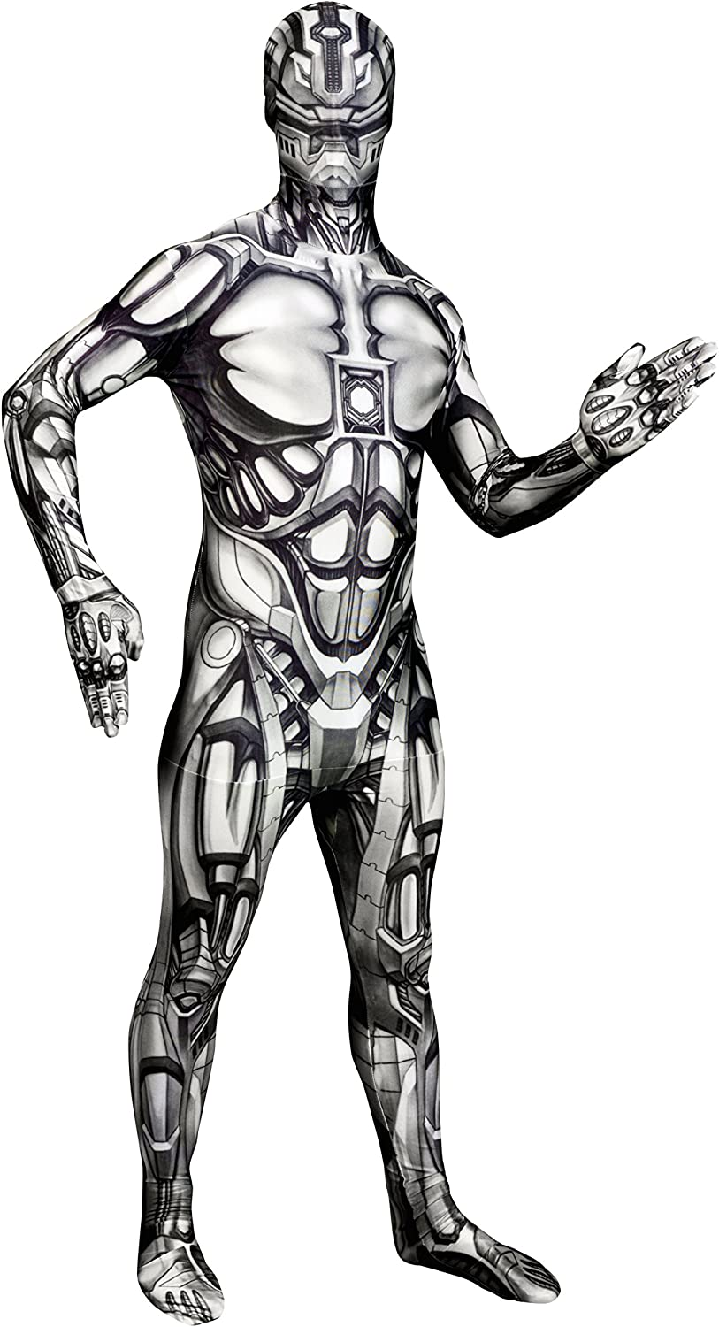Morphsuits Official Adults Android 5 ☆ very popular Robot Monster Very popular! Dress Fancy Cos