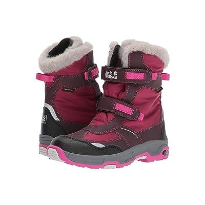 Jack Wolfskin Kids Snow Flake Waterproof (Toddler/Little Kid/Big Kid) (Mahogany) Girls Shoes