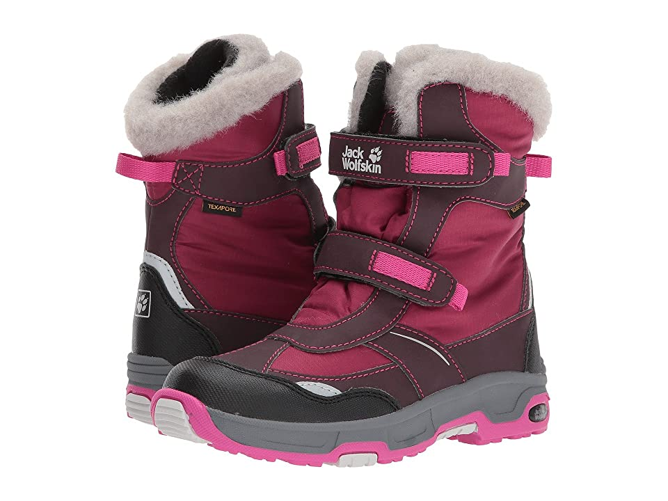 Jack Wolfskin Kids Snow Flake Waterproof (Toddler/Little Kid/Big Kid) (Mahogany) Girls Shoes