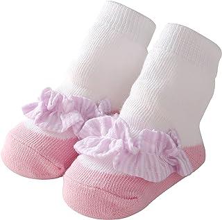 Bebé Chicas Algodón Calcetines Encantador Princesa Cordón Calcetines para Bebé Niña Volante fruncido Tutu Calcetines