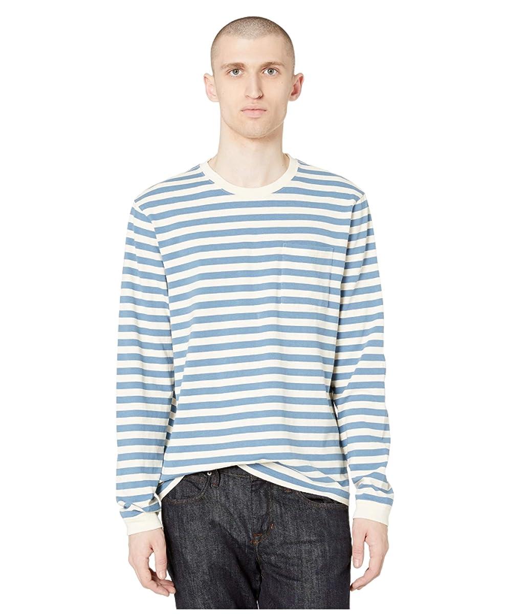 J.Crew Heritage Jersey Long Sleeve Classic Stripe (9394593867870)