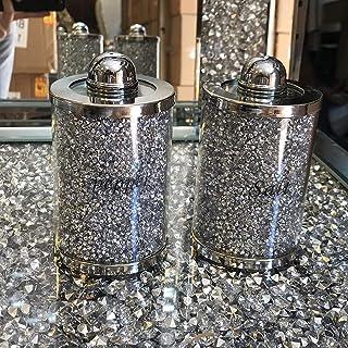 Excellent rapport qualité/prix – Ensemble de boîtes de rangement pour sel et poivre – Collection unique pour votre décorat...