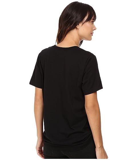 con Life redondo Neon F Beautiful negro Beautiful Camiseta is en cuello Upa7AP