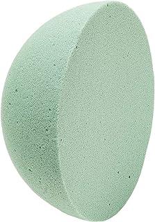 Demi-cercles en mousse florale humide pour loisirs créatifs (20 cm, vert, 1 pièce)