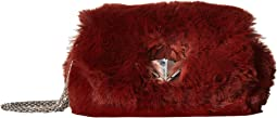 Le Copain Faux Fur Shoulder Bag