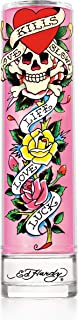 Christian Audigier Ed Hardy Perfume for Women, Eau De Parfum Spray with Warm Amber Notes, 3.4 Ounce