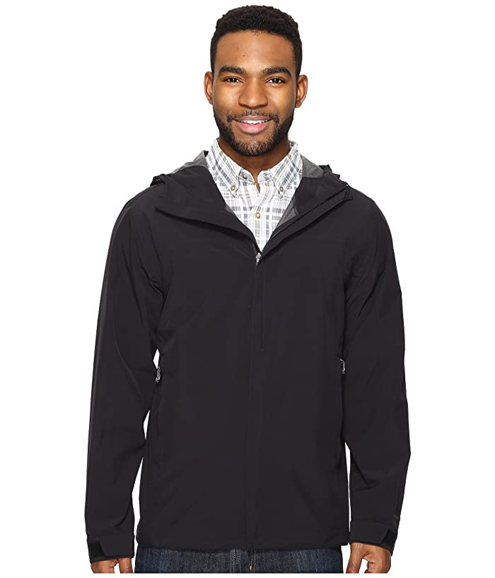 Royal Robbins Oakham Waterproof Jacket (Jet Black) Men
