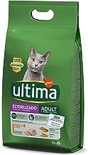 ultima Pienso para Gatos Esterilizados Adultos con Pollo - 3 kg