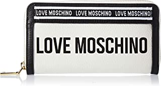 Love Moschino Womens Zip Around Wallet