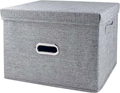 160f5149837a Amazon.com - Collapsible Storage Cubes Bins 13