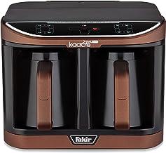 Fakir Kaave Dual-Pro 9218003 / mokkamachine koffiezetapparaat elektrisch, kunststof, One Touch bediening, 2,3 l waterreser...