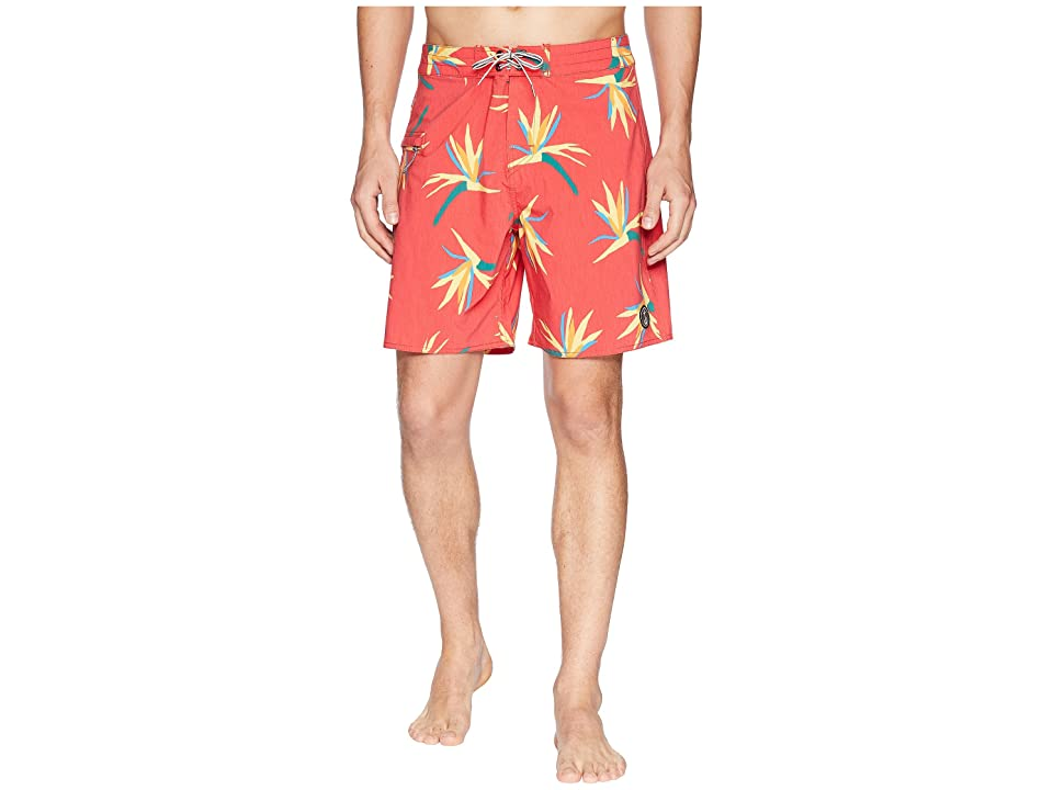 Captain Fin Jungle Jam Boardshorts (Red) Men