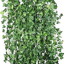 12 stks Kunstplanten van wijnstok valse bloemen klimop opknoping garland voor de bruiloft thuis bar tuin wanddecoratie bui...