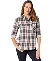 Harley Double Weave Plaid One-Pocket Shirt