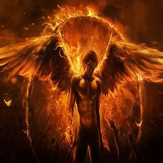 Flame Angel Live Wallpaper